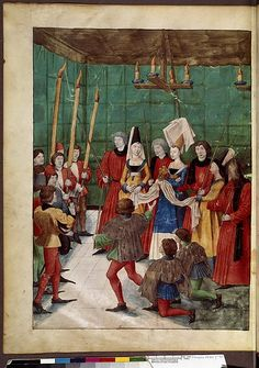 Book of the Tournament, Francais 2692, fol. 70v King Rene d Anjou Bibliotheque Nationale de France by Lisette la Roux Projects, via Flickr