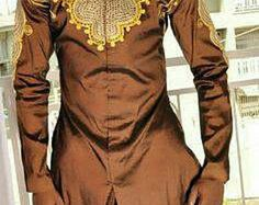 African Clothing for Men African Print Clothing by AfricaBlooms African Clothing For Men, African Dresses For Women, African Wear, African Attire, African Women, African Style, African Inspired Fashion, African Print Fashion, Africa Fashion