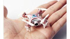 El drone más pequeño del mundo que incluye cámara