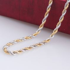 Find More Chain Necklaces Information about 3mm width Golden silver cross Hemp flowers chains length 60cm 316L Stainless steel Necklace for men women jewelry wholesale,High Quality necklace star,China necklace lion Suppliers, Cheap necklace silver from Chinese Jewelry Factory,Wholesale From Yiwu China on Aliexpress.com