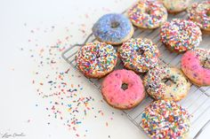Beach Sprinkle Donuts