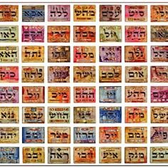 The 72 names of God