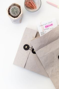 DIY Document Envelopes - Organise your Receipts, Invoices and Bills