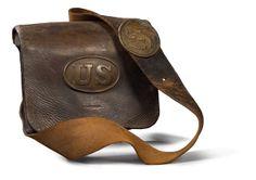 Model 1861 Civil War Cartridge Box, - Cowan's Auctions