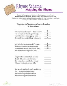 graphic organizer for student to analyze a poem its elements grades 4 poetry pinterest. Black Bedroom Furniture Sets. Home Design Ideas