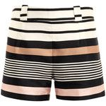 Raoul Border stripe silk shorts