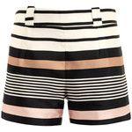 Raoul Border stripe silk shorts