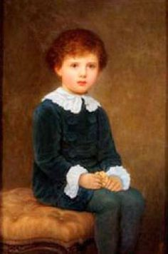 Eric Hawksley -- by Kate Perugini (1839 – 1929, English; daughter of Charles Dickens)