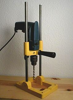 Home Made Drill Press