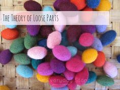 Theory of Loose Parts: Education + Respect for Children + Creativity + Reggio! All in one place! Reggio Emilia, Play Based Learning, Early Learning, Reggio Classroom, Classroom Ideas, Classroom Helpers, Preschool Classroom, Classroom Organization, Classroom Environment