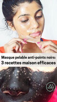 3 Homemade Natural Peel Off Masks - Masque pelable anti-points noirs : 3 recettes maison efficaces - Look du jour