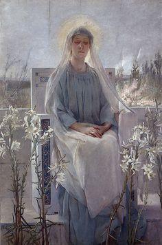 Sarah Paxton Ball Dodson, Meditation of the Holy Virgin, 1889