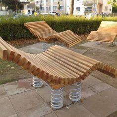 Outdoor Furniture, Outdoor Decor, Sun Lounger, Home Decor, Playground, Environment, Chaise Longue, Interior Design, Home Interior Design
