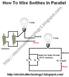how to wire switches in series pinterest wire rh pinterest com