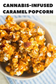 What do you get when you cross cannabis with caramel popcorn? Cannamel Potcorn is what you get. Weed Recipes, Marijuana Recipes, Cannabis Edibles, Cooking Recipes, Healthy Recipes, Healthy Lunches, Detox Recipes, Cannabis Cookbook, Popcorn Recipes