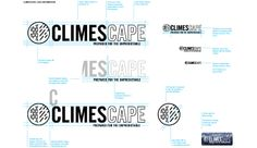 Part of our process in the brand identity development for Climescape.
