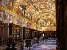 Real Biblioteca del Monasterio de El Escorial - San Lorenzo de El Escorial. España