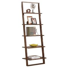 Riverside Lean Living Leaning Bookcase
