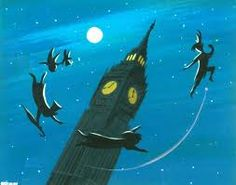 I want to fly across Big Ben in the evening London sky...