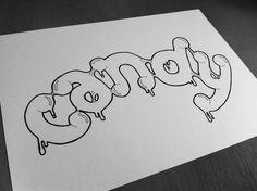 Typography Mania #270   Abduzeedo Design Inspiration THIAGO DE OLIVEIRA LIMA