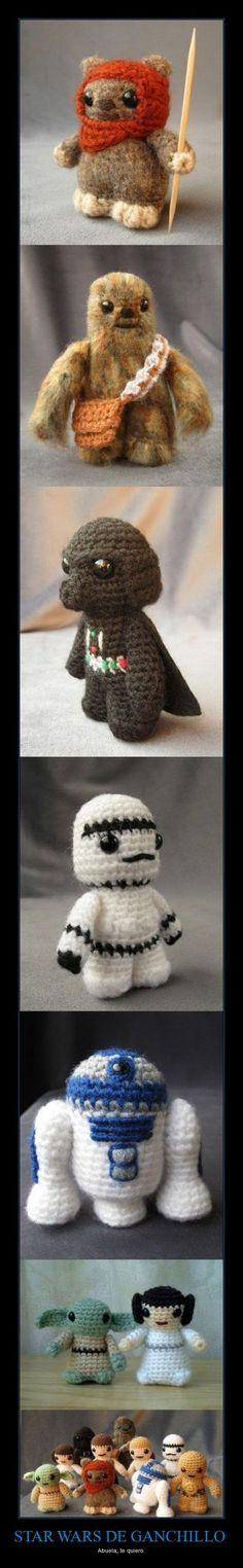 Crochet Star Wars ^^