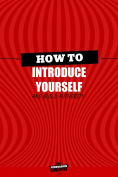 How to introduce yourself so they see you as the authority you really are #businesstips #marketingtips #onlinebusiness #copywriting #thepersuasionrevolution