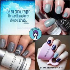 Gel Polish, Cos, Nail Ideas, Blues, Make Up, Nail Art, Colours, In This Moment, My Favorite Things