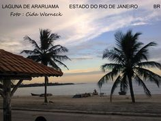 """Laguna de Araruama no estado do Rio de Janeiro,BR. Quem passa pela chamada """"Região dos Lagos"""" desfruta de paisagens assim. Esta é uma enorme laguna que banha vários municípios e se comunica com o mar pelo canal do Itajuru na cidade de Cabo Frio. Foto : Cida Werneck"""