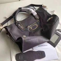Balenciaga Clasic Gold Metallic Edge Goatskin City Bag Size: cm Tips: I would really like to recommend this site https:. Designer Purses, Balenciaga City Bag, Bag Sale, Metallic, Shoulder Bag, Grey, Classic, Bags, Gray
