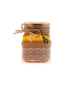 Mărturie Rustică Candle Jars, Candles, Candle Mason Jars, Candy, Candle, Lights