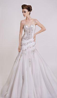 Trendy Wedding Dresses A Line Drop Waist Mermaid Gown Ideas 2016 Wedding Dresses, Wedding Attire, Wedding Bride, Bridal Dresses, Wedding Gowns, Bridesmaid Dresses, Wedding Ideas, Wedding Rustic, Trendy Wedding