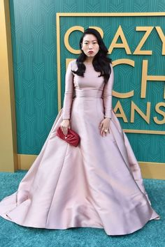 ab973ba34 Awkwafina at the Crazy, Rich Asians premiere Reem Acra