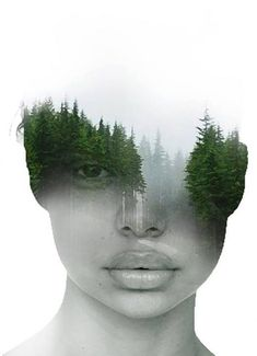 New Surreal Art Photography Photomontage 30 Ideas Photomontage, Surrealism Photography, Landscape Photography, Contemporary Photography, Portraits En Double Exposition, Kreative Portraits, Double Exposure Photography, White Photography, Double Exposure Portraits