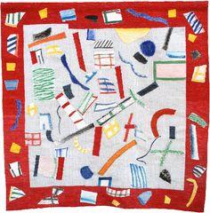 Francoise Paressant - Tapestry: A Capella. 200 x 200cm.