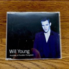 Will Young Anything Is Possible Evergreen Cd music song single track Cd Music, Music Songs, Cds For Sale, Britpop, Anything Is Possible, Evergreen, My Ebay, Track, Baseball Cards