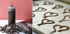 diy chocolate shapes