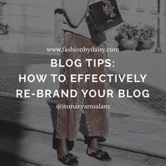 ⬇️ NEW POST:How to effectively re-brand your blog & Social platforms: Click link below👇🏾: http://www.fashionbydaisy.com/blog-tips/how-to-effectively-re-brand-your-blog/