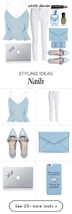 """Untitled #118"" by juhirawal on Polyvore featuring River Island, rag & bone, Vinyl Revolution, Bobbi Brown Cosmetics, Fraiche, Deborah Lippmann, Rebecca Minkoff and Miu Miu"