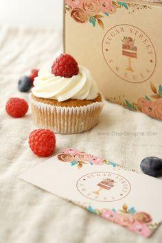 22 Ideas for business cars design bakery etsy Bakery Identity, Cake Branding, Bakery Business Cards, Cake Business, Pastry Logo, Baking Logo, Watercolor Cake, Disney Cars Birthday, Bakery Cakes