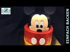 3D Mickey Mouse Torte/Cake I Einfach Backen - Marcel Paa - YouTube