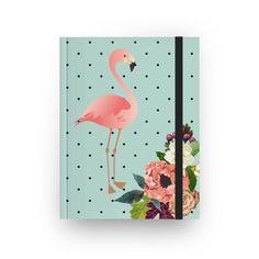 Sketchbook Flamingos de Outono de @juzimmermann | Colab55