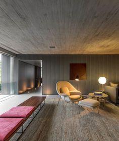 Hochmodernes Wohnzimmerdesign