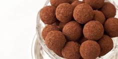 These coffee bon-bons from Marcus Wareing are flavoured with Kahlúa, making a luxurious treat for any special occasion Candy Recipes, Sweet Recipes, Dog Food Recipes, Cooking Recipes, Chocolate Truffles, Chocolate Recipes, Marcus Wareing, Great British Chefs, Chocolate Delight