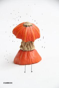 woman with umbrella by Slumbird Art Direction, Wordpress, Digital Art, Illustrations, Woman, Pictures, Design, Photos, Illustration