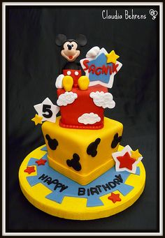 mickey mouse cake - claudia behrens
