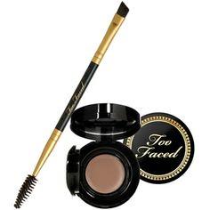 Too Faced Bulletproof Brows - Brunette. Too Faced Bulletproof Brows - Brunette. Eyebrow Makeup, Beauty Makeup, Makeup Tips, Makeup Salon, Drugstore Beauty, Makeup Stuff, Makeup Hacks, Makeup Geek, Beauty Bar