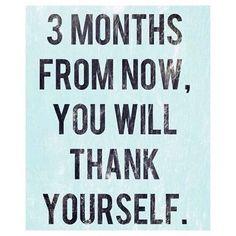 3 months from now you will thank yourself for your hard work #motivation #workhard #letsdothis #focus #believe by Zurvita Zeal Wellness For More Updates Follow Us here: http://ift.tt/1Ye4gt0 #zurvita #zealenergydrink #zealwellness #zealchallenge