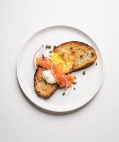 Egg-In-a-Hole With Smoked Salmon | RealSimple.com