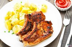 Delicious, moist and tender BBQ pork chops ready in 10 minutes in your Instant Pot. These are by far the BEST, most moist pork chops I've ever eaten.