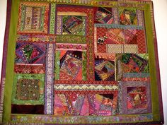 Wallhanging of Crazy Quilting Braids and Beads | Explore suz… | Flickr - Photo Sharing!